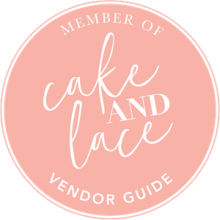 Member of Cake and Lace Vendor Guide
