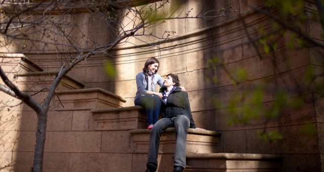 Shelly & Mark | Palace of Fine Arts | San Francisco Engagement Photography
