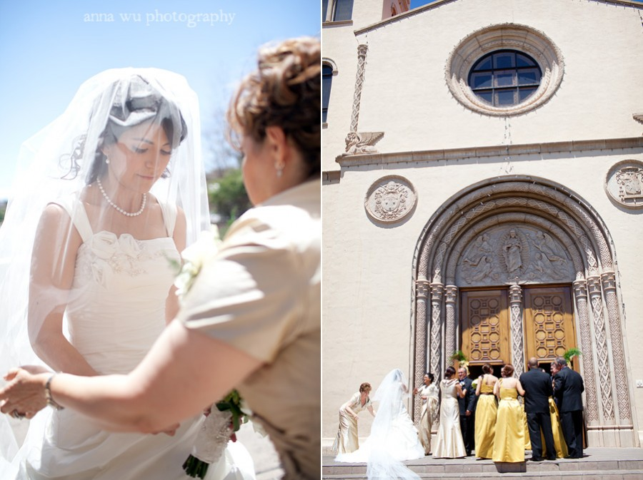 Evy & Joe | Tubac Nogales Arizona Wedding Photography | Sacred Heart Catholic Church