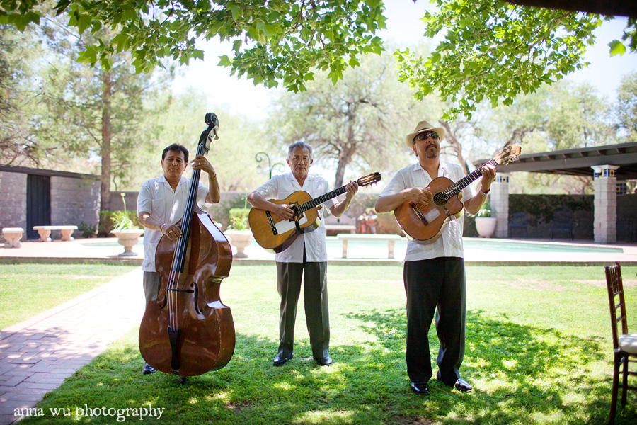 Evy & Joe | Tubac Nogales Arizona Wedding Photography | Mariachi band