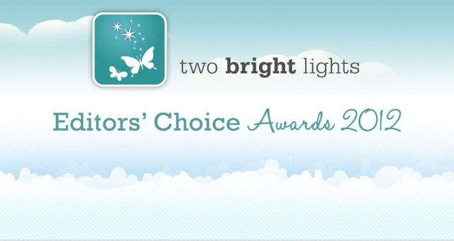 Published | Two Bright Lights Editors' Choice Award 2012