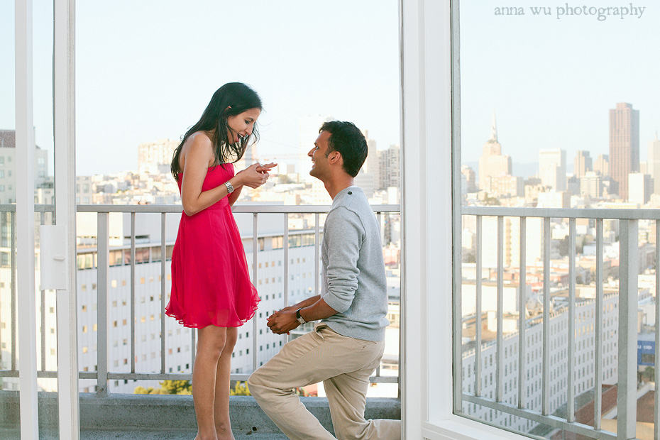 Anika & Vijay's San Francisco surprise proposal | av_5849