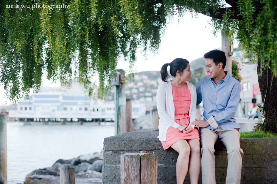 Sun & Elliot | Sausalito Marin Engagement Photography | se_091