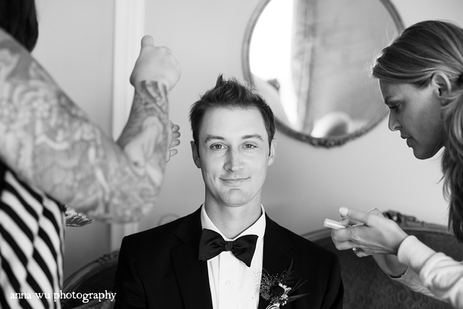 Michelle & David | Berkeley City Club Wedding Photography | md_083_bw
