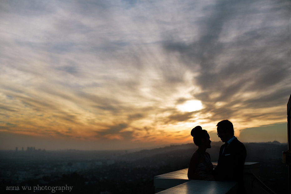 Jenny & Kevin | Second Anniversary Portrait Session | Griffith Observatory, LA | jk_45
