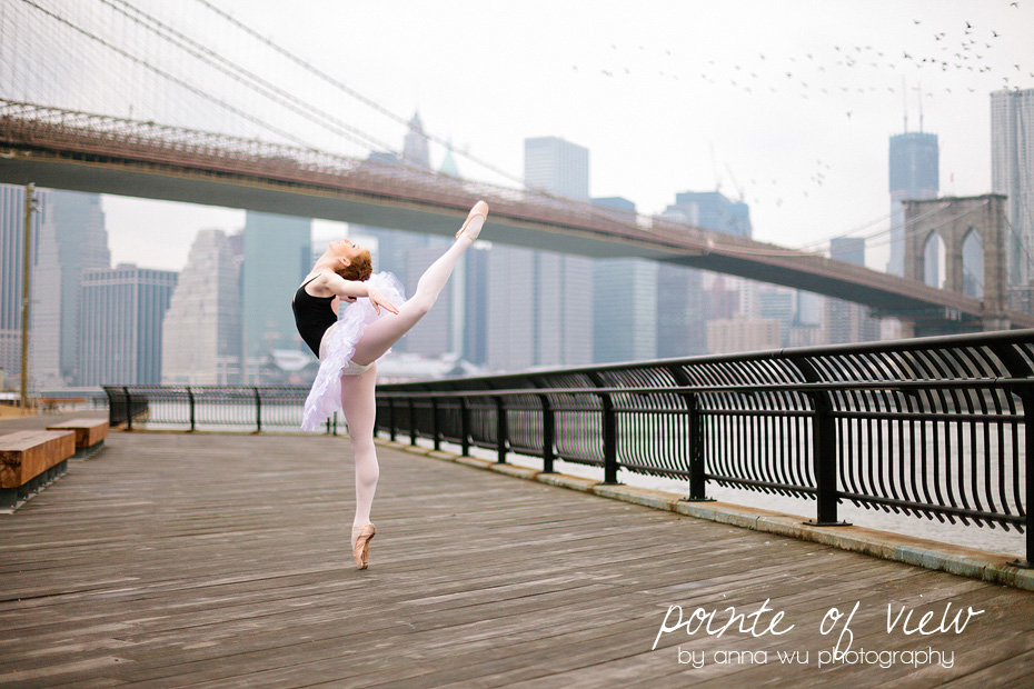 She sets the birds to flight. Pointe of View by Anna Wu Photography