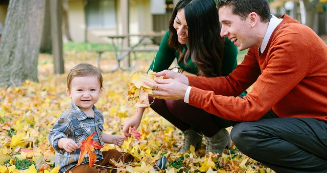 Autumn Family Portraits | Bay Area Lifestyle Photography