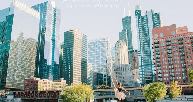 Dancing in Downtown Chicago | Pointe of View