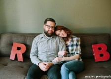 Bridgette and Ryan first met in Michigan, where they worked together at a communications company. Their first date was at a friend's show at a...