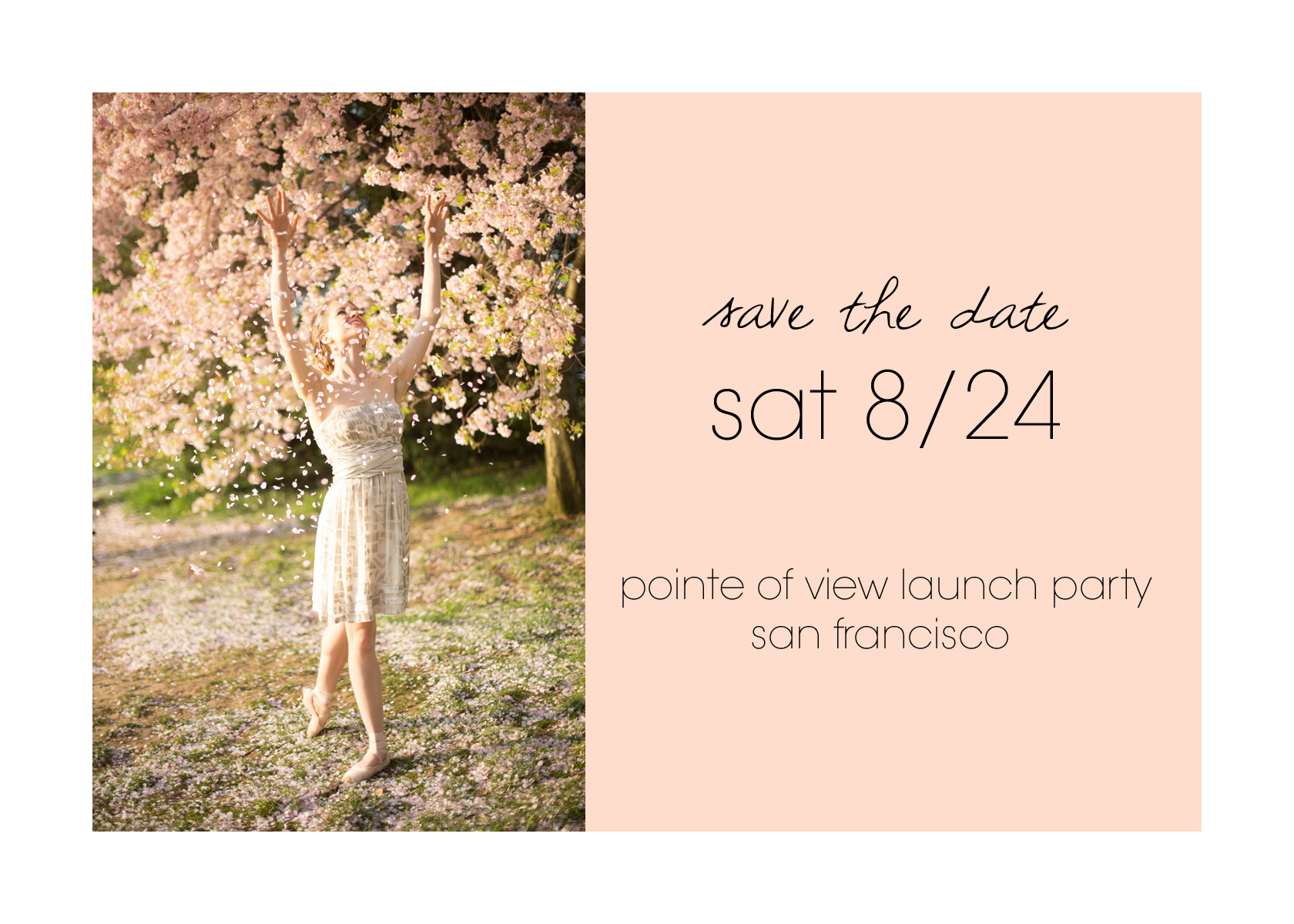 Pointe of View ballerina book kickstarter launch party