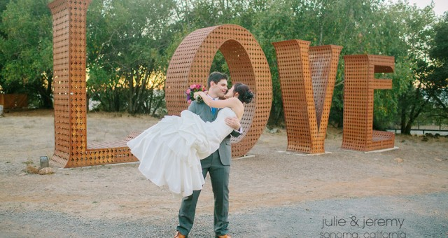 Julie & Jeremy | Paradise Ridge Winery | Sonoma Wedding Photography