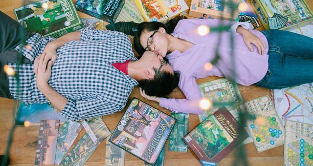 Jenny & Kevin's Third Anniversary | At Home with Food & Board Games | Los Angeles Lifestyle Photography