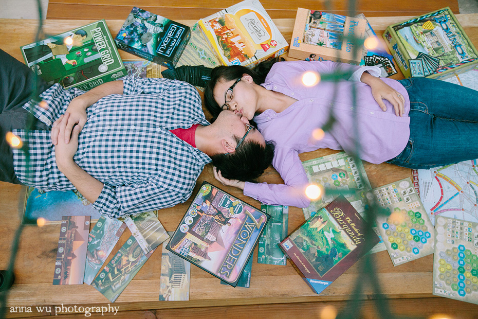 Board Game themed photo shoot | At Home Anniversary Portrait Session | Jenny & Kevin | jk_43
