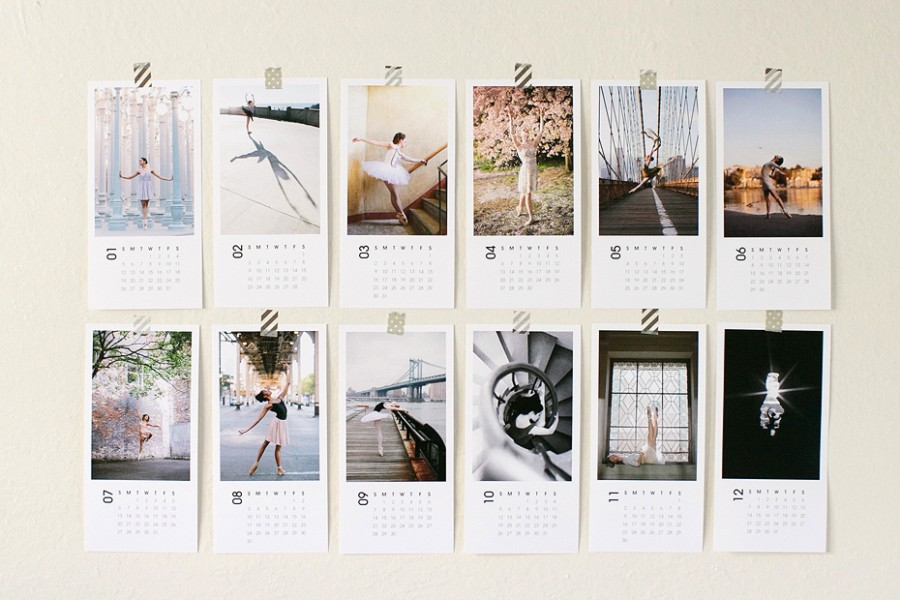 Calendar Design Photo : Anna wu photography san francisco wedding photographer