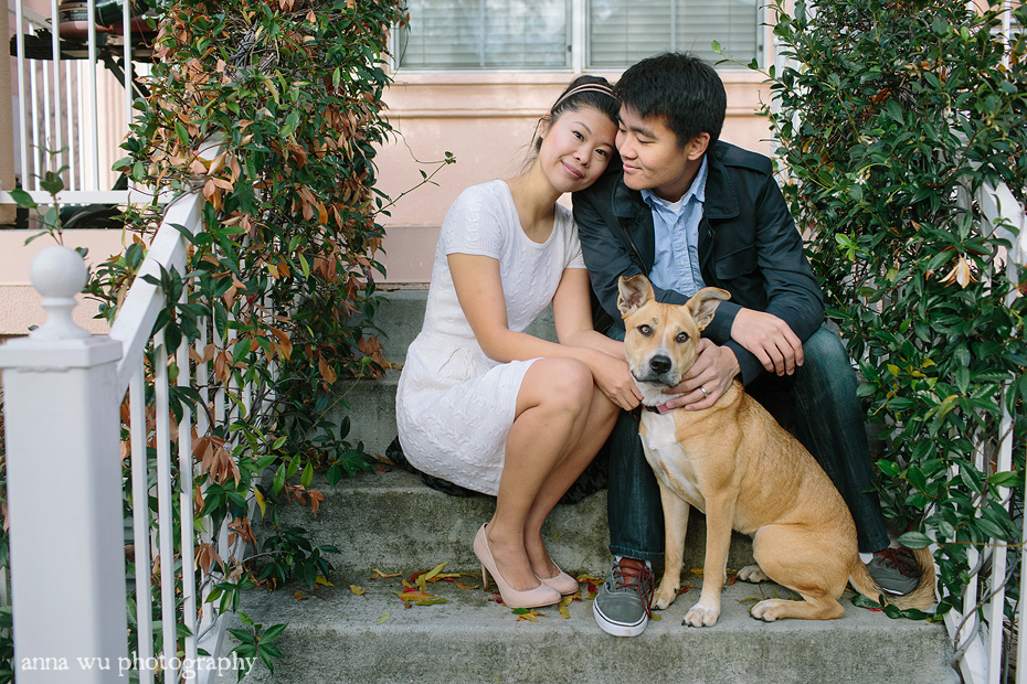 Anniversary family portraits with the dog | Shau-Ru & Ed | Anna Wu Photography | se_068