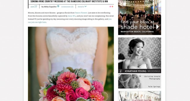 Ramekins, Sonoma Wine Country Wedding | Featured on Style Me Pretty