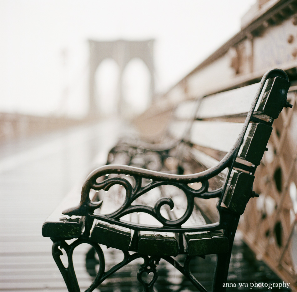 Brooklyn Bridge Film Photography by Anna Wu
