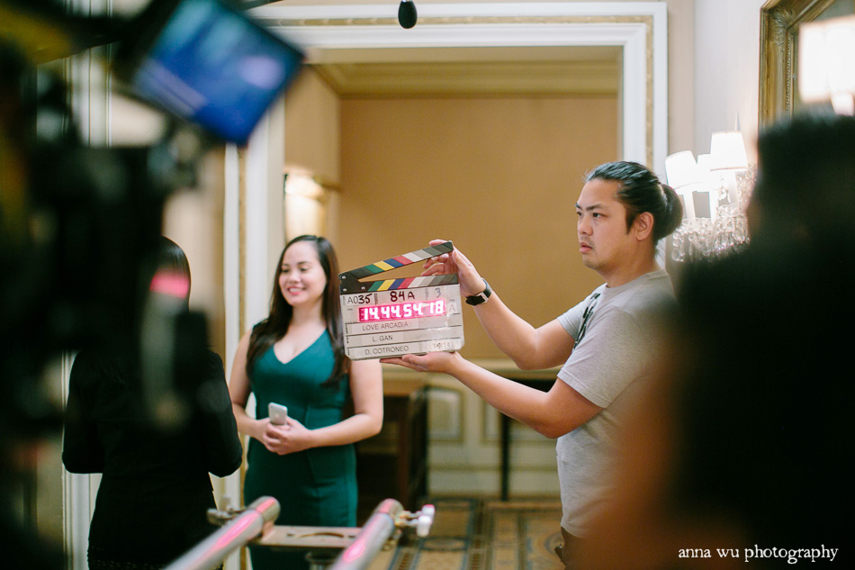 2nd AD Behind the scenes, on set with Love Arcadia film | Anna Wu Photography