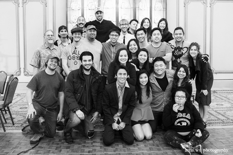 Cast & Crew Behind the scenes, on set with Love Arcadia film | Anna Wu Photography