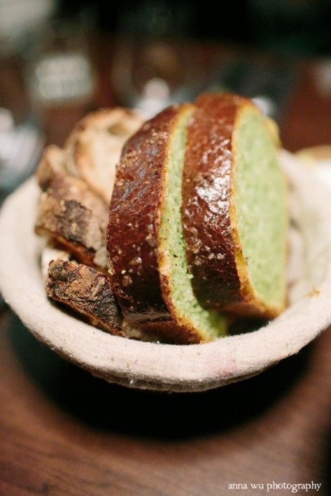 Chez Jose basil bread by Pam | New York City Winter Holidays | Anna Wu Travel Photography