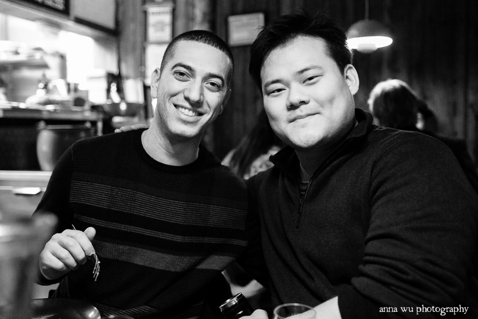 Jamie and Jesse at Chez Jose |New York City Winter Holidays | Anna Wu Travel Photography