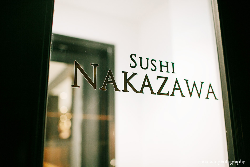 Sushi Nakazawa food photography & review by Anna Wu