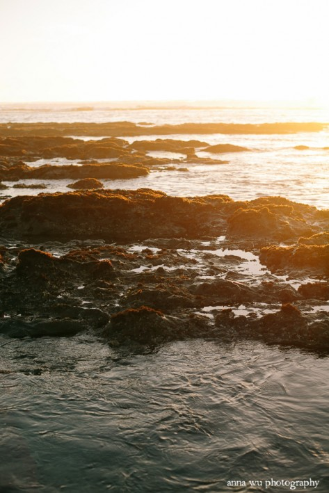 Sunset at the Tidal Pools | Anna Wu Photography