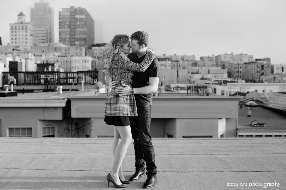 San Francisco Engagement Photographer | Russian Hill Vallejo Ste