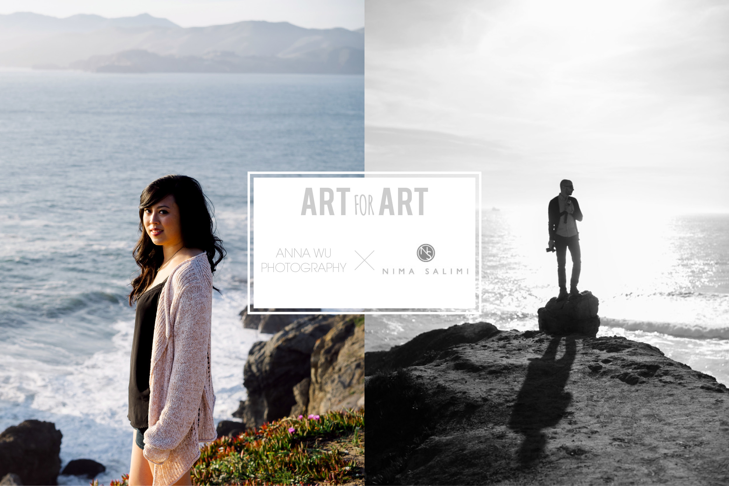 Anna Wu x Nima Salimi | Art for Art photographers portraits