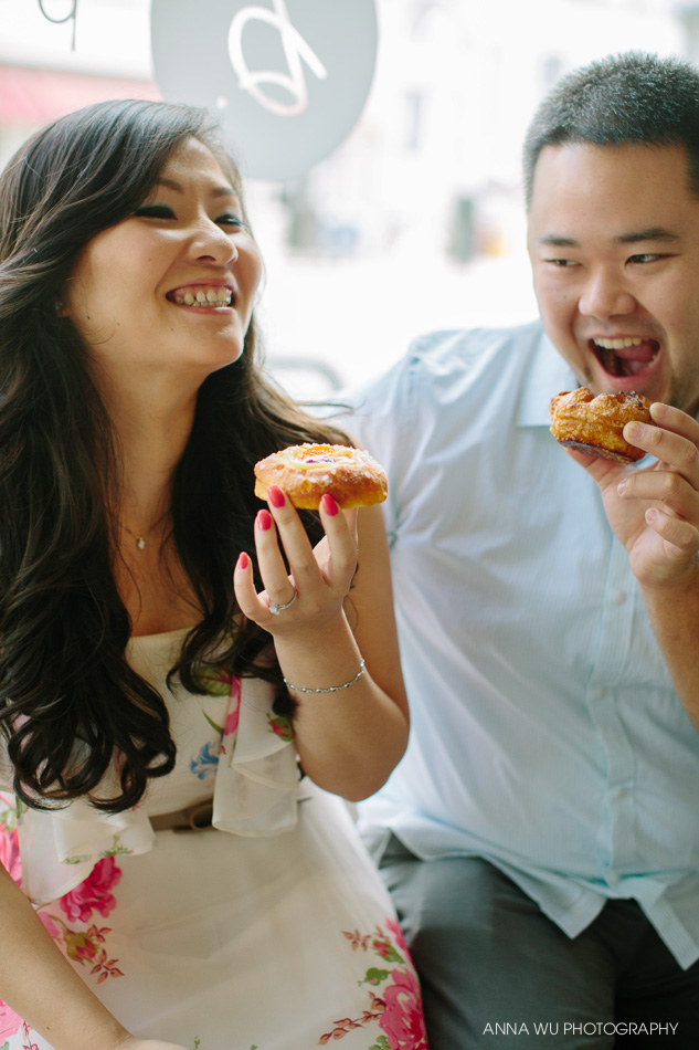 B. Patisserie Engagement Session San Francisco | Diana & Chris