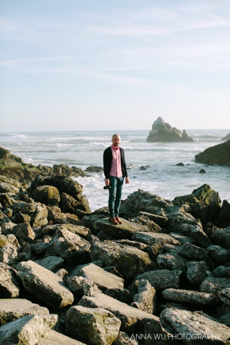 Nima Salimi, photographed by Anna Wu | Sutro Baths, San Francisco | Art for Art