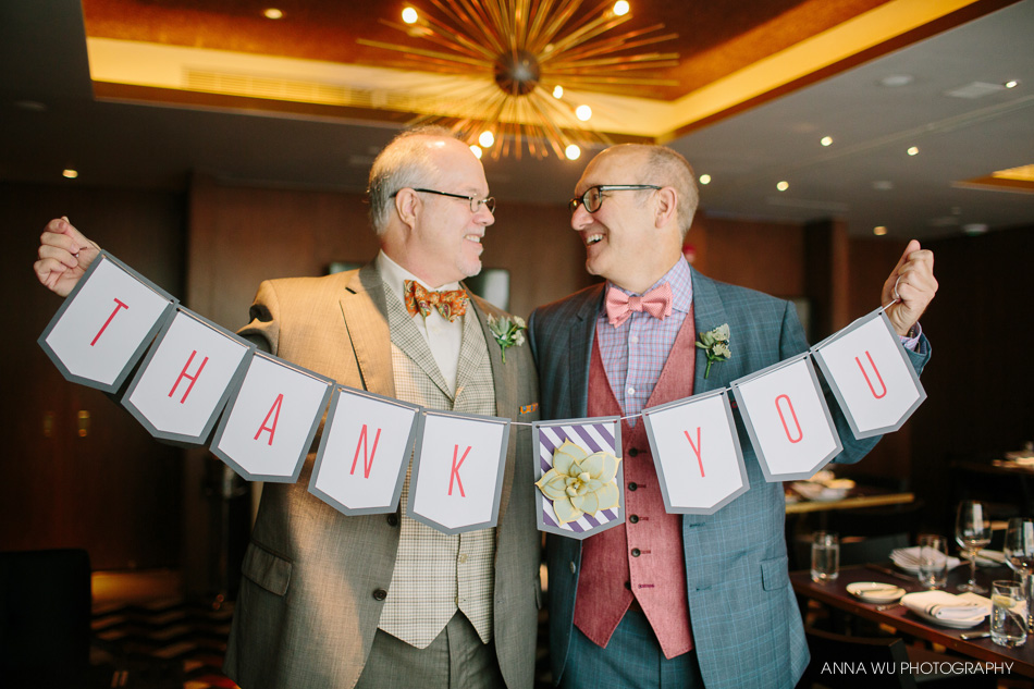New York Gay Wedding Photography | Neil & Tom | The Quin Hotel