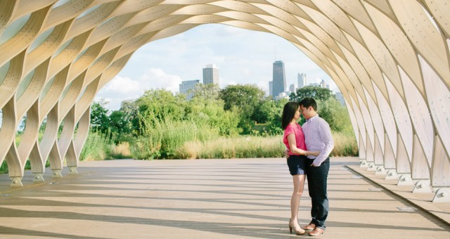Ninna & Eric | Chicago Engagement Photography