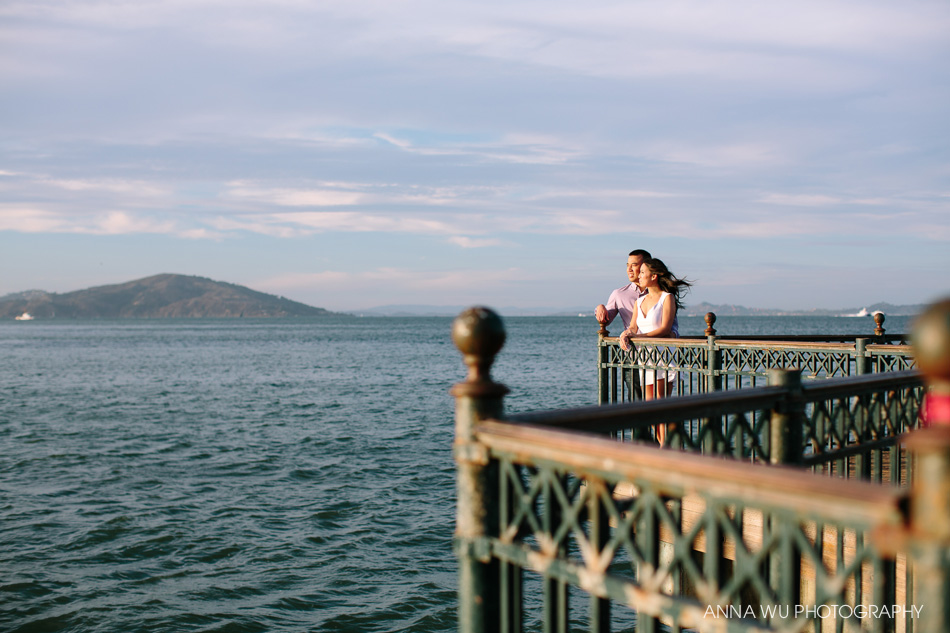 Dora & Ken | Pier 7 San Francisco Engagement Session