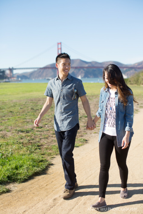 Esther & Robert | San Francisco Engagement Photography
