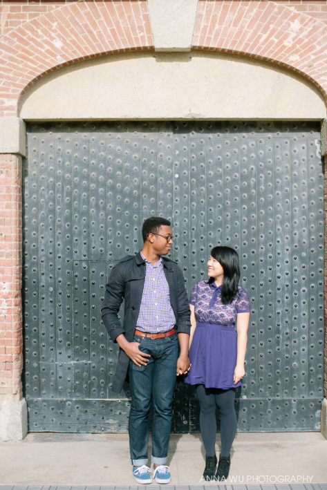 Kim & Joir-dan | San Francisco Engagement Portraits