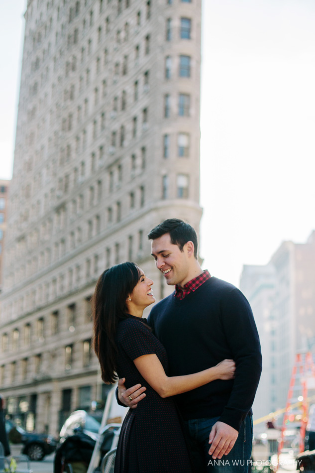 Stephanie & Ian | New York City Engagement Photography