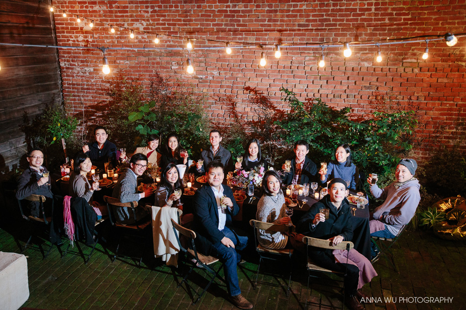 Anna Wu's Birthday Dinner | Moody Winter Garden Party #annawuthreeoh