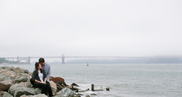 Shadda & Tim | Palace of Fine Arts | San Francisco Engagement Photography
