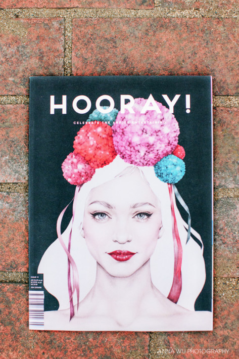 Anna Wu featured in Hooray! Magazine
