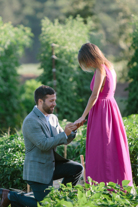 Surprise Proposal Photography | Engagement at The French Laundry