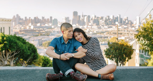 Jessica & Young | San Francisco Engagement Photography