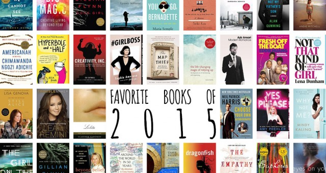 Best of 2015: Favorite Books