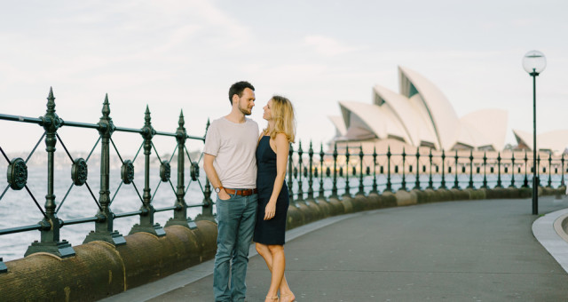 Liz & Cameron | Sydney, Australia | International Engagement Photography