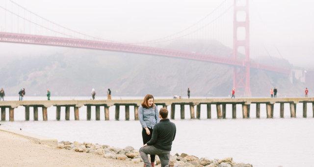Bethany & Bryan | San Francisco Surprise Proposal Photography