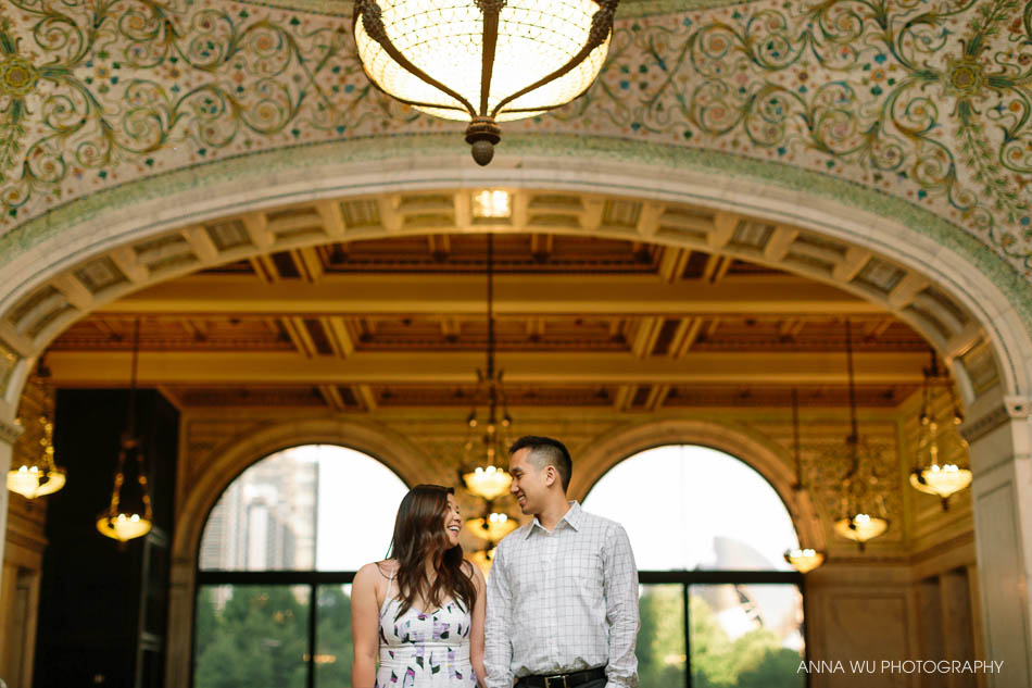 Angie & Randy | Downtown Chicago Engagement Photography