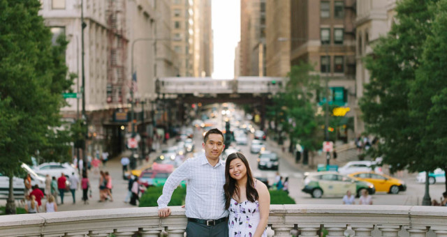 Angie & Randy | Chicago Engagement Photography