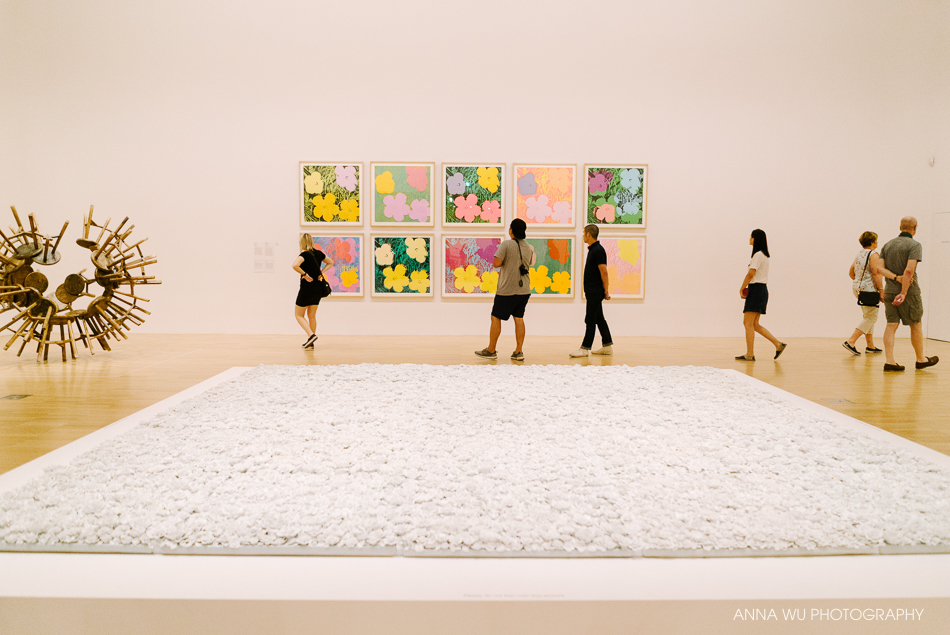 Andy Warhol & Ai WeiWei at the National Gallery of Victoria, Mel