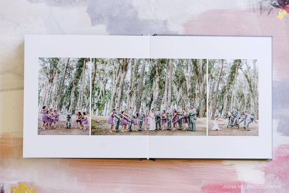 Silver Moon Heirloom Wedding Album by Anna Wu Photography | Sere
