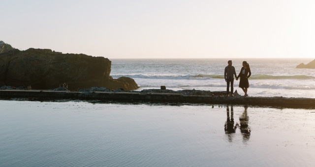 Mayline & Kenneth | Sutro Baths | San Francisco Anniversary Photography